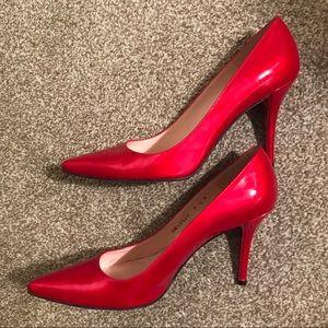 Stuart Weitzman Quasar Princess Pump Red Stiletto